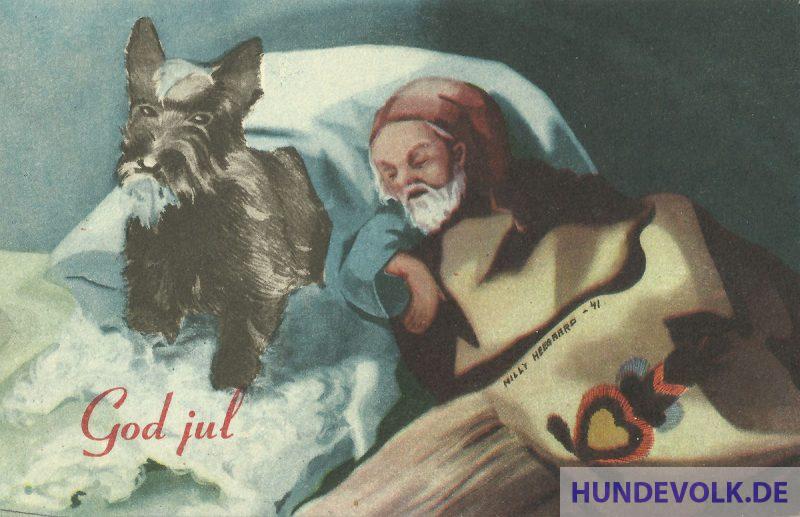Weihnachtsgrüsse 'God Jul'